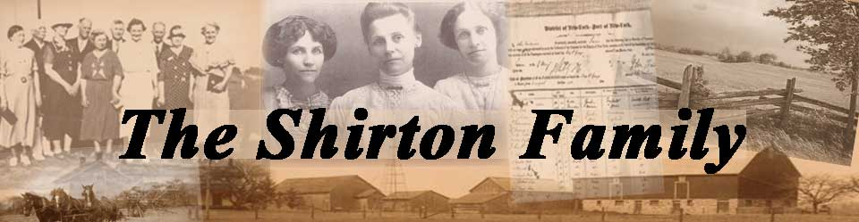 shirton family website heade
